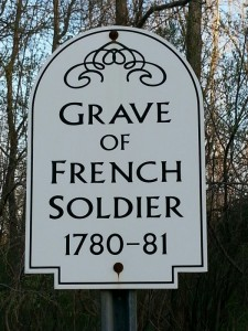 Lebanon French Soldier Sign